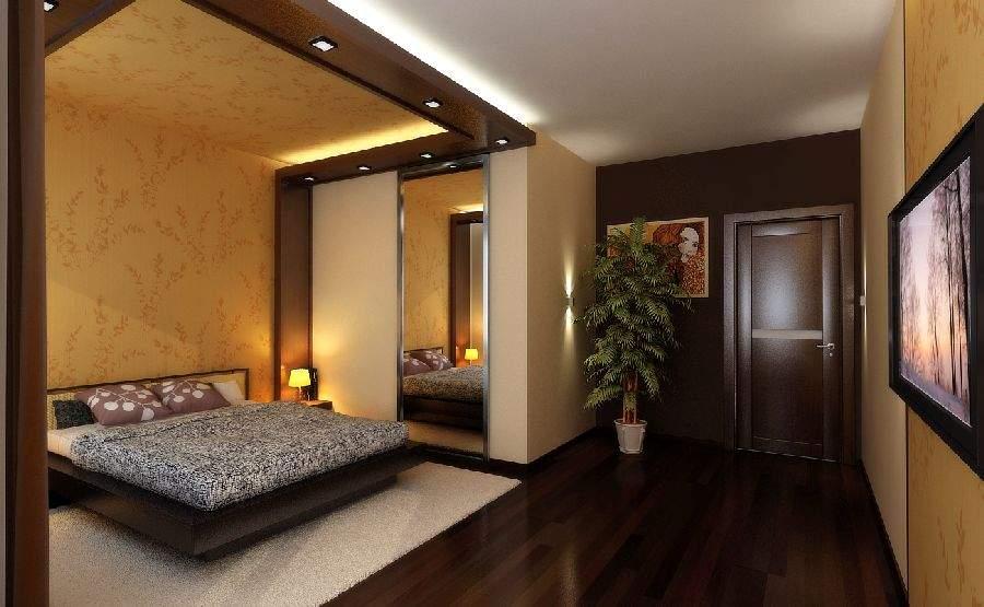 И ремонт интерьер спальни